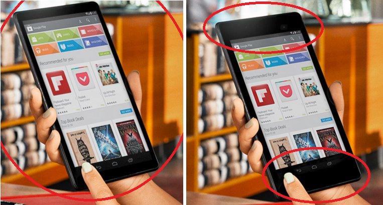 Nexus 8 und Nexus 7