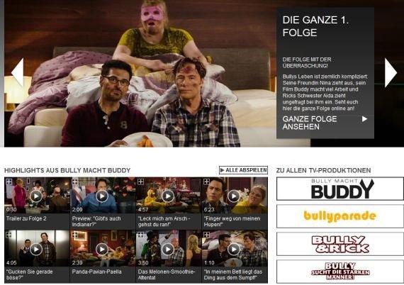 Bully macht Buddy im Stream: Alle Folgen der ProSieben-Sitcom online