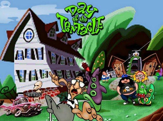 Day of the Tentacle: Das Original-Adventure zum Download, mit Lösung