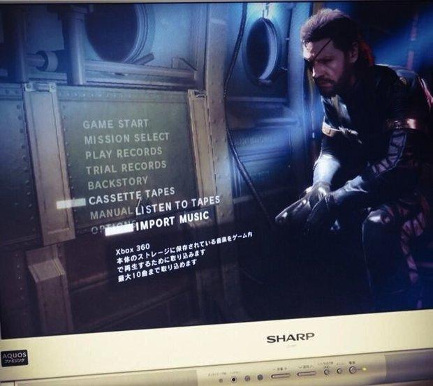 Metal Gear Solid 5 - Ground Zeroes: Wird eigene Musik unterstützen