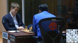 Schach-WM im Live-Stream und zum Nachverfolgen: Schafft Anand noch die Wende?