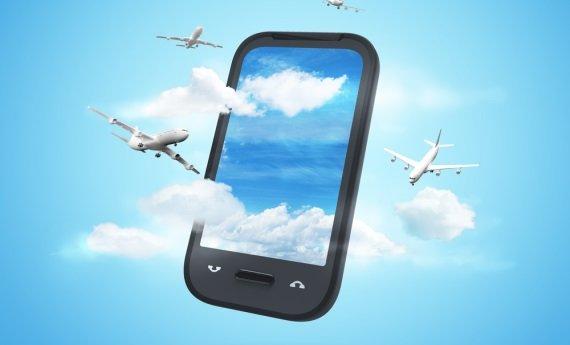 Smartphones im Flugzeug: EASA lässt Nutzung teilweise zu