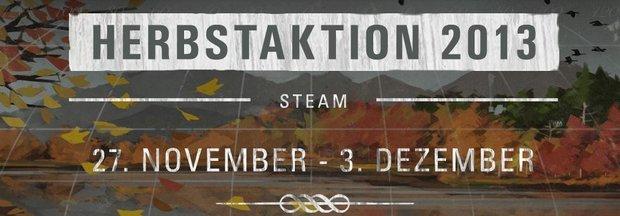 Steam: Herbst-Sale ab sofort gestartet