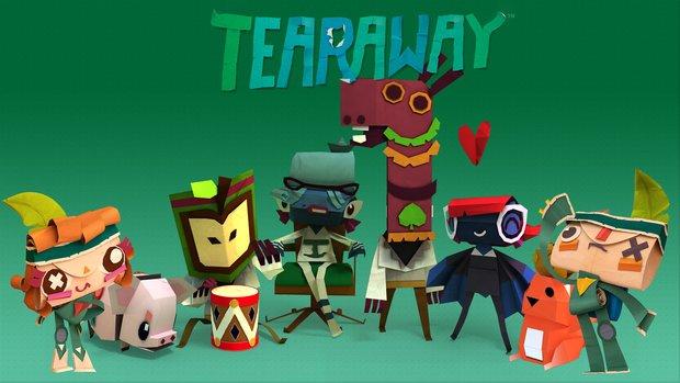 Tearaway: Launch-Trailer zeigt euch die Papierwelt, Demo ab Freitag