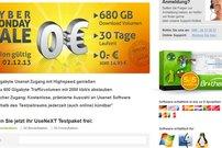 Cyber Monday bei UseNeXT: 30 Tage kostenlos statt 14,95€