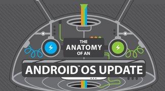 Die Anatomie eines Android Updates: Der Aktualisierungsprozess erklärt (Infografik)