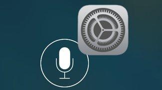 iOS-Einstellungen mit Siri aufrufen (Kurztipp)