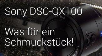 Was für ein Schmuckstück: Sony DSC-QX100 Unboxing