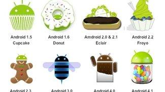 Neue Zahlen zur Android-Verteilung: Jelly Bean steigt, KitKat taucht auf!