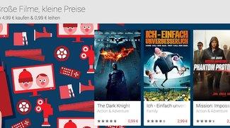 Play Movies-Aktion: Blockbuster &amp&#x3B; Klassiker ab 99 Cent leihen, ab 4,99 Euro kaufen – Dark Knight, Wall-E, uvm.