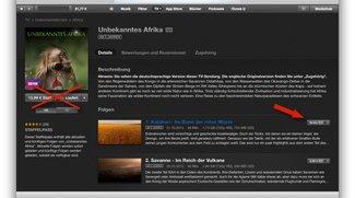 iTunes-Geschenk Tag 2: Vorsicht beim Laden