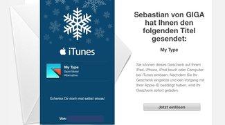 Apps, Musik, Filme & iTunes-Guthaben verschenken, so geht's