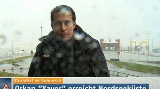 """Orkan """"Xaver"""": Live-Stream mit den aktuellen Unwetter-Nachrichten"""