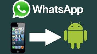 WhatsApp Verlauf von iPhone auf Android übertragen: So geht's