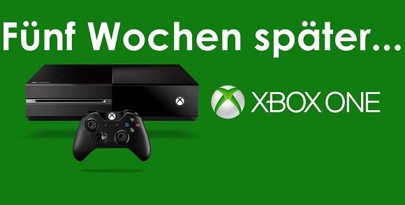 Nach einem Monat: Lohnte sich der Kauf der Xbox One?