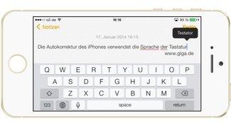Sprache der iPhone-Autokorrektur umstellen (Mini-Tipp)