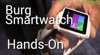Burg Smartwatches: Die intelligenten Uhren, die auch Telefon sind (CES 2014)