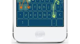 120 Wörter pro Minute: Neuartiges iOS-Keyboard nutzt Wisch-Gesten