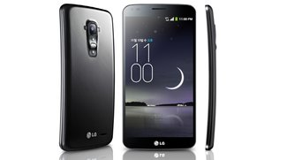 LG G Flex im kurzen Hands-On (CES 2014)