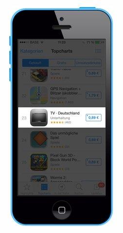 TV Deutschland im App Store
