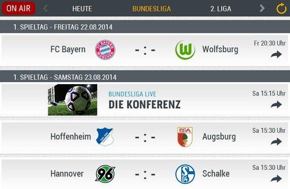 Bundesliga-Radio im Live-Stream: Die Konferenz und alle Spiele einzeln hören