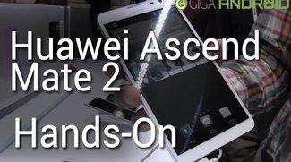 Huawei Ascend Mate 2 im kurzen Hands-On (CES 2014)