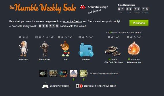 Humble Weekly Sale: Machinarium für Android, Botanicula & mehr!
