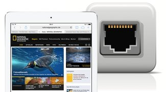 iPad mit Ethernet verbinden: Internet per Kabel