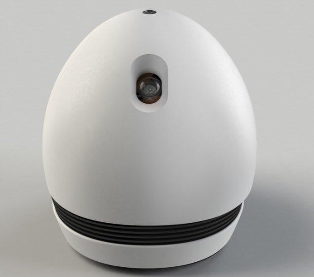 Keecker - ein intelligenter, kleiner Android-Roboter mit Beamer!
