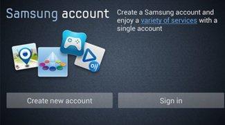 Samsung Konto erstellen - Einrichtung und Features