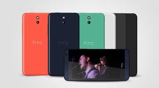 HTC Desire 816: Schickes 5,5 Zoll-Phablet im Hands-On-Video [MWC 2014]
