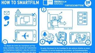 Einen Film mit dem Smartphone drehen? Samsung hilft (Infografik)