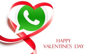 Valentinstag 2017: Schöne Sprüche für WhatsApp und Facebook