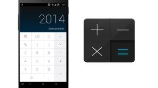 CALCU: Schicke Taschenrechner-App im Holo-Stil