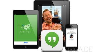 Google Hangouts für iOS 7: Update bringt neues Design und iPad-Optimierung