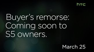 HTC kündigt HTC One 2 für März an, macht sich über Samsungs S5 lustig!