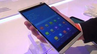 Huawei MediaPad M1 8.0: Schickes Multimedia-Tablet im Hands-On-Video [MWC 2014]
