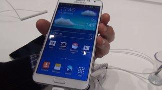 Samsung Galaxy Note 3 Neo: Mittelklasse-Phablet im Hands-On-Video [MWC 2014]