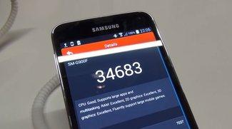 Samsung Galaxy S5: Benchmark mit AnTuTu, CF-Bench und GFXBench [MWC 2014]