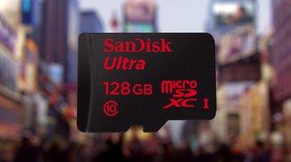 SanDisk: Erste microSD-Karte mit 128 GB Kapazität vorgestellt [MWC 2014]