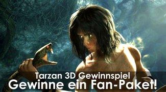 Tarzan 3D: Gewinnt ein Fan-Paket mit Poster, Tasche und Kinokarte!