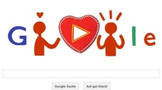 Valentinstag bei Google: So funktioniert das Schokoladen-Doodle