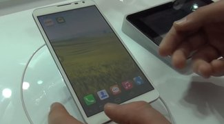 Huawei Ascend Mate 2 4G: Hands-On Video vom 6,1-Zoll-Phablet mit Riesen-Akku [MWC 2014]