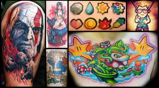 Schmerzhafte Hingabe: 30 Gaming-Tattoos, die Du nicht wieder vergisst