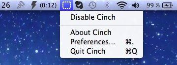 cinch_menueleiste