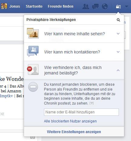 Personen Trotzdem Sehen Facebook Blockierte