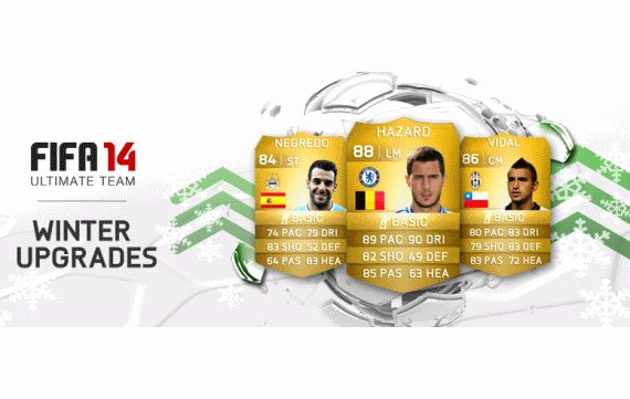 FIFA 14 Ultimate Team: Winter Upgrades