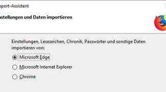 Firefox: Lesezeichen importieren – so geht's