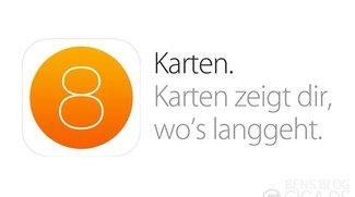 iOS 8: Bessere Karten-App mit öffentlichem Nahverkehr