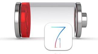 iOS 7.1: Akku von iPhone und iPad schneller leer